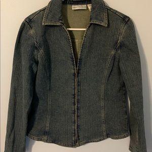 Dana Buchman jean jacket size 8